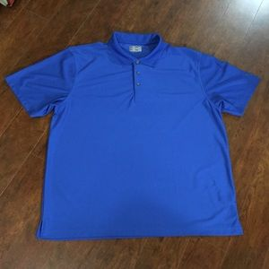 PGA TOUR  CHAMPIONSHIP BLUE GOLF SHIRT SZ XXL